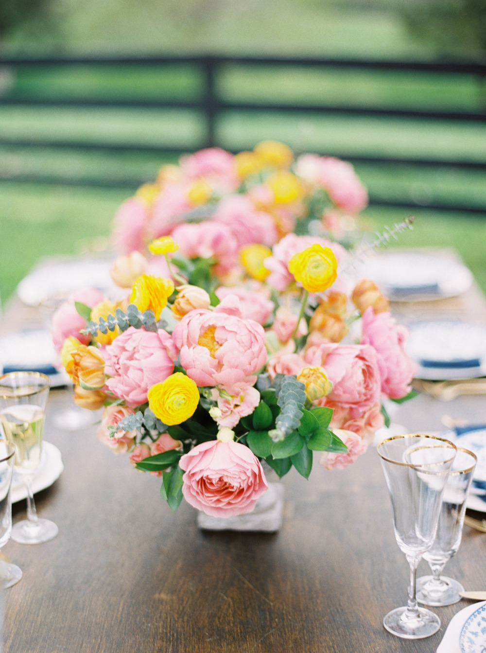 springtime centerpiece idea