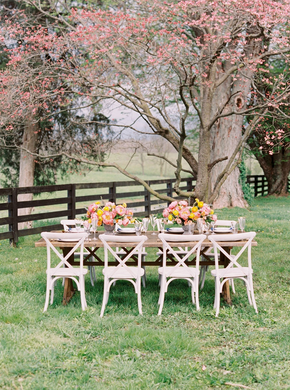 spring wedding venue idea