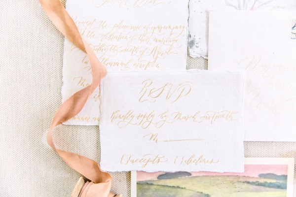 Pink Letters Calligraphy