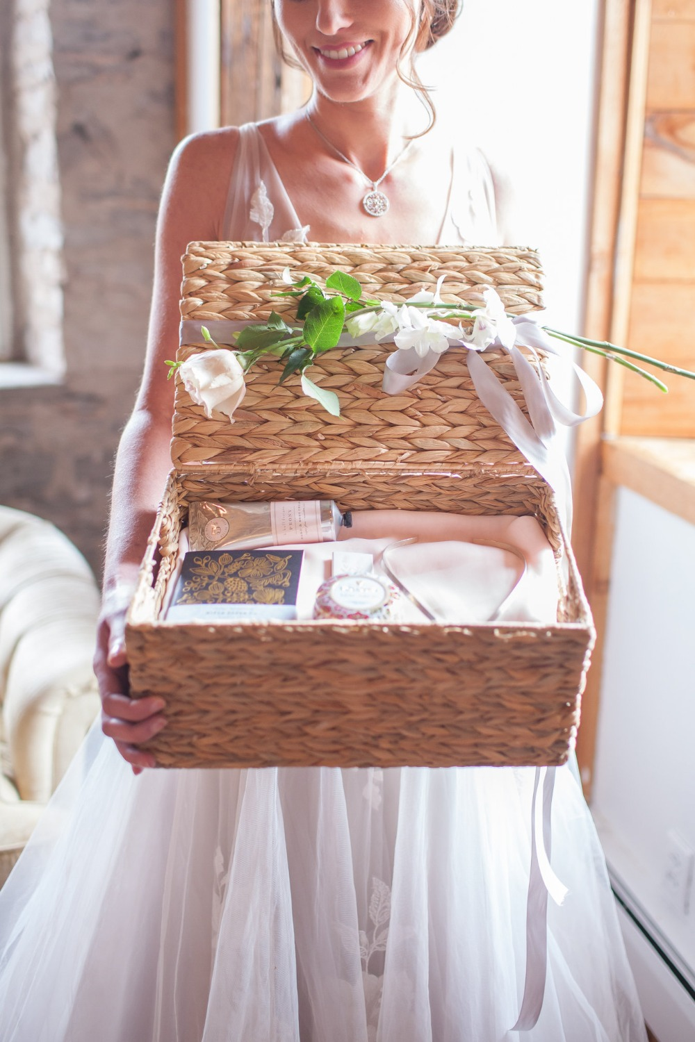 wedding favor basket