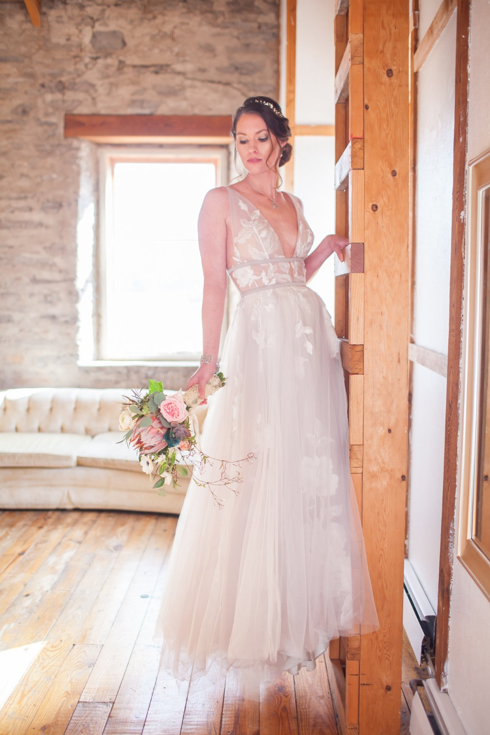 romantic wedding dress from Lovely Bride Rochester