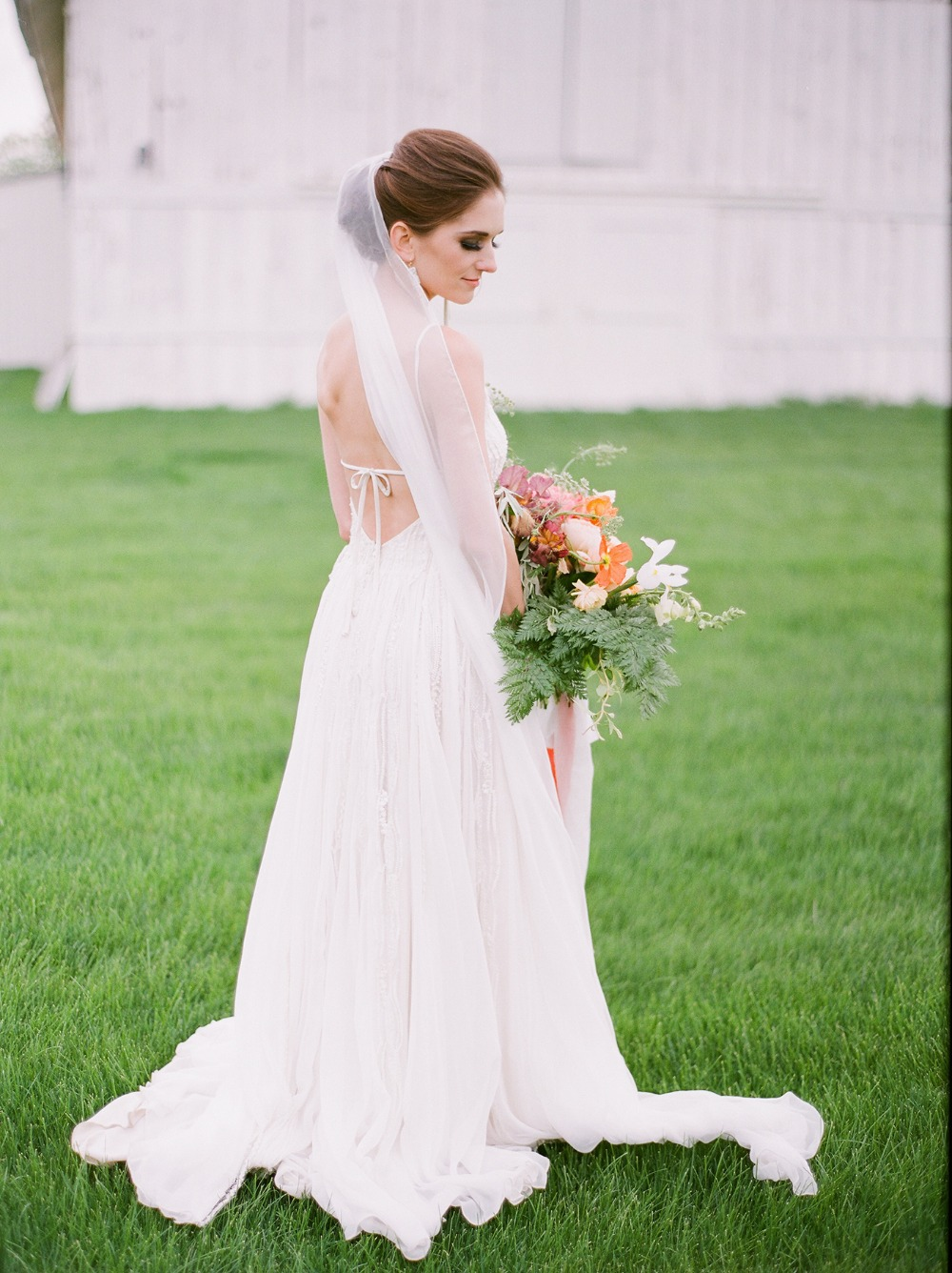 elegant Daci Gowns wedding dress