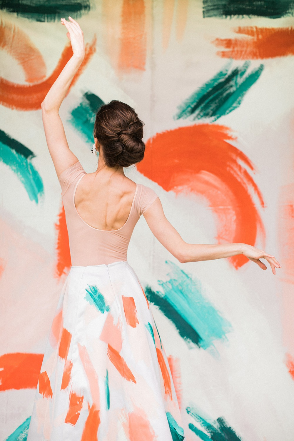 paint inspired wedding ideas