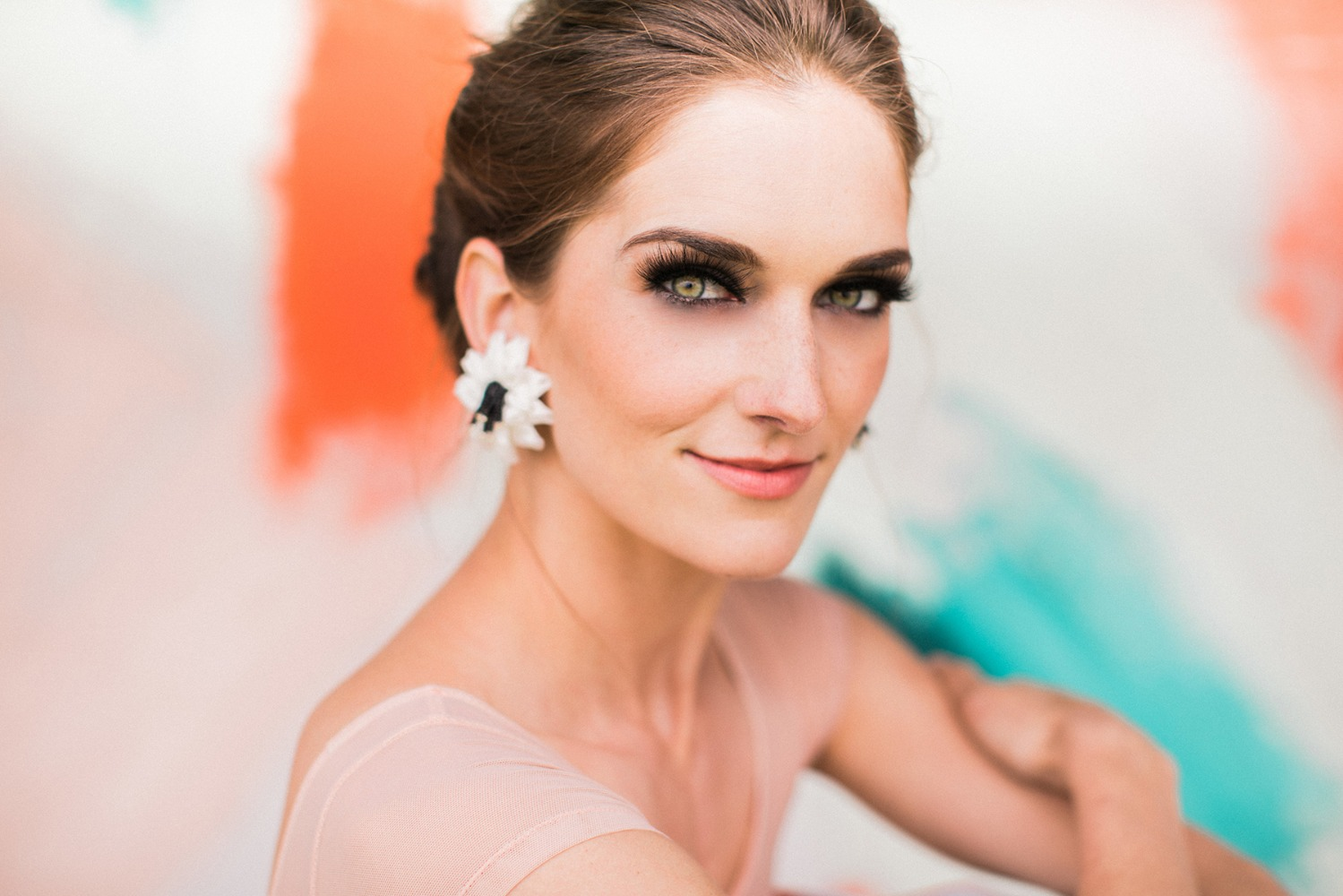smokey eye wedding makeup