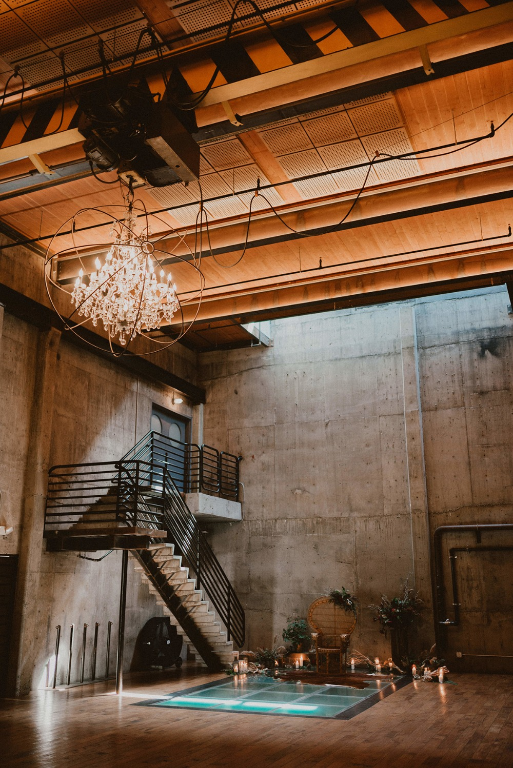 industrial wedding venue Fremont Foundry