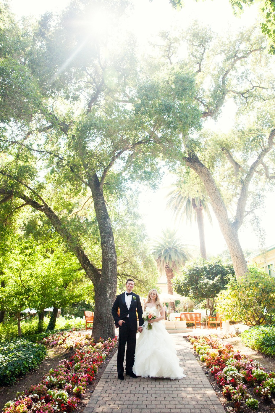 Wine Country Garden Wedding at Madrona Manor