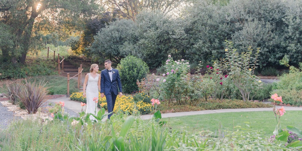 Want a Wine Country Garden Wedding? We Got You