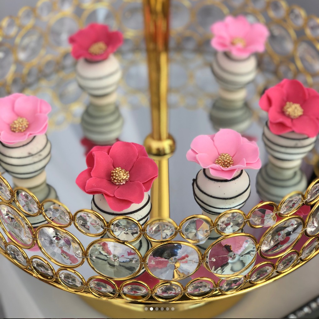 Created gorgeous dessert tables ~ Opulent Treasures collection of cake stands, dessert stands, cupcake stands & more can help you to
