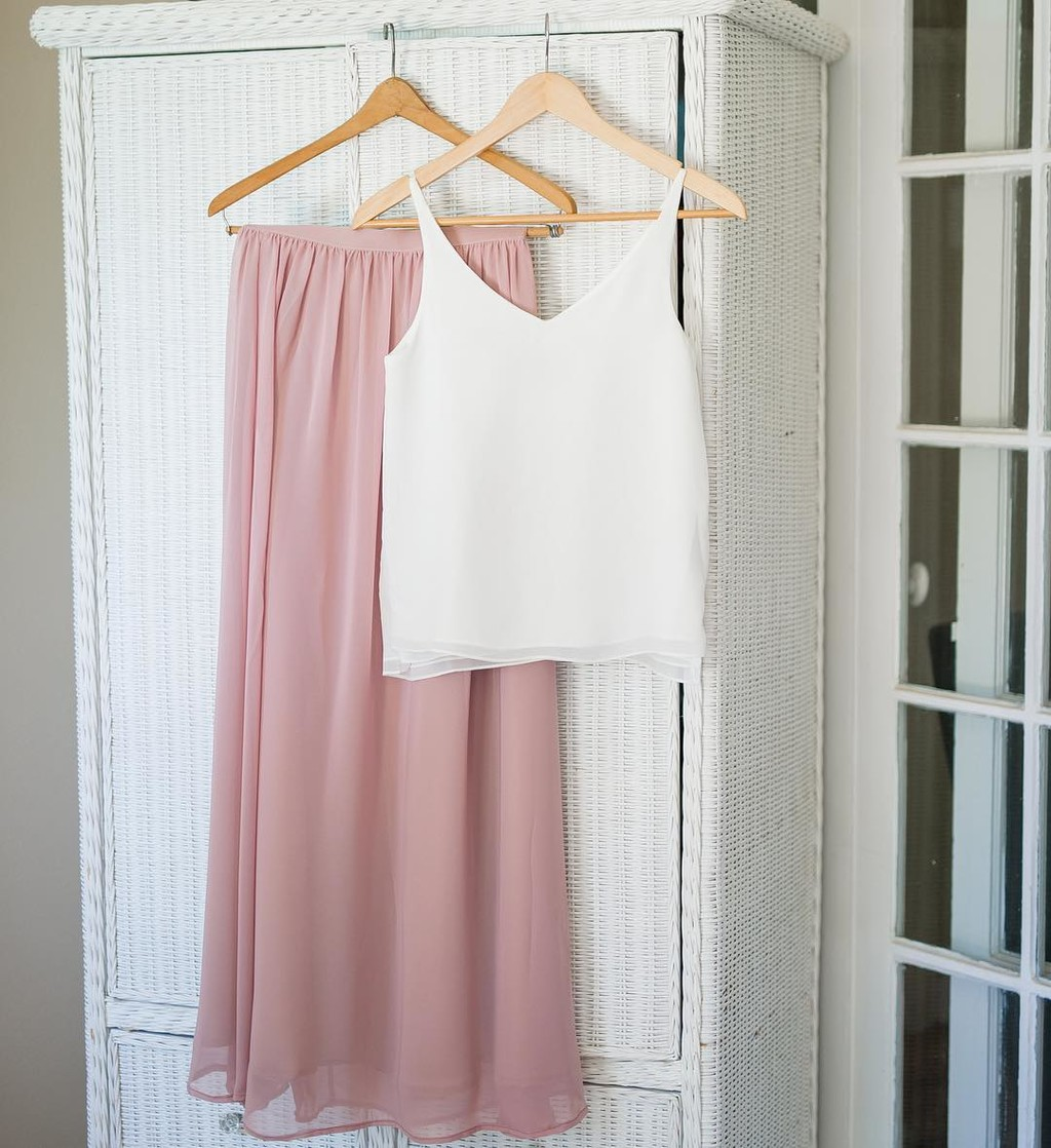 The sweetest separates for the most stunning maids.💕