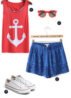 4th of July Outfit Ideas + Patriotic Cocktail Ideas