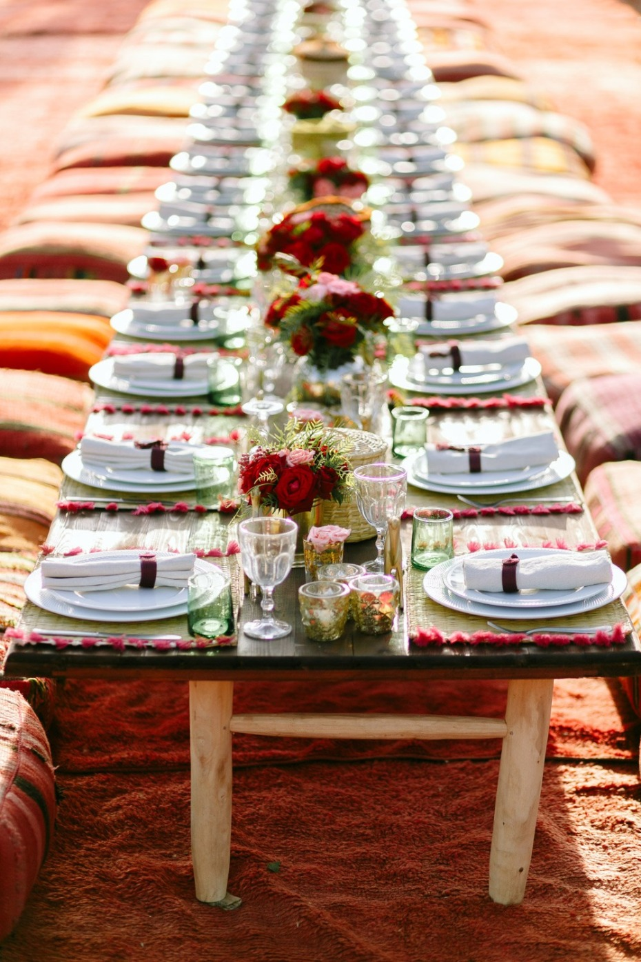 Moroccan Place Setting Ideas