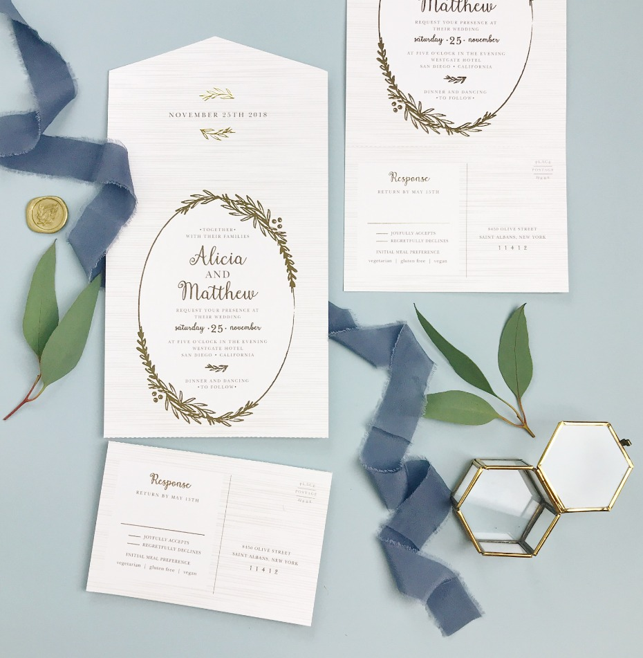 These Epic Wedding Invites Don't Come With Envelopes