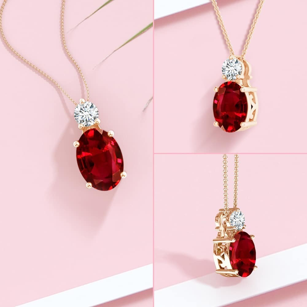 Make a statement with summer's boldest hue - ruby red.
