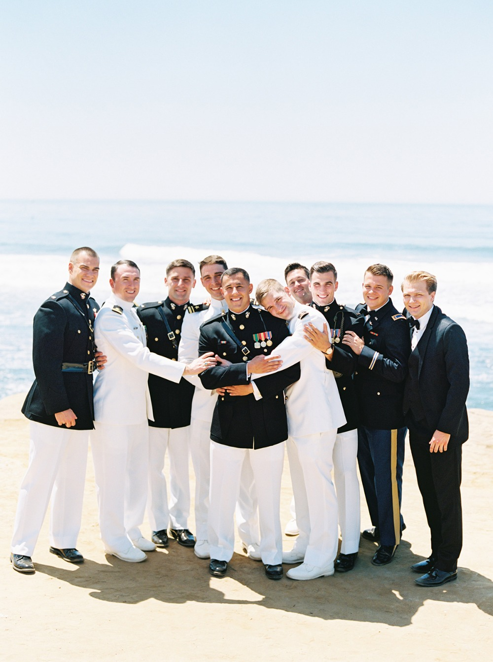 military dress groomsmen