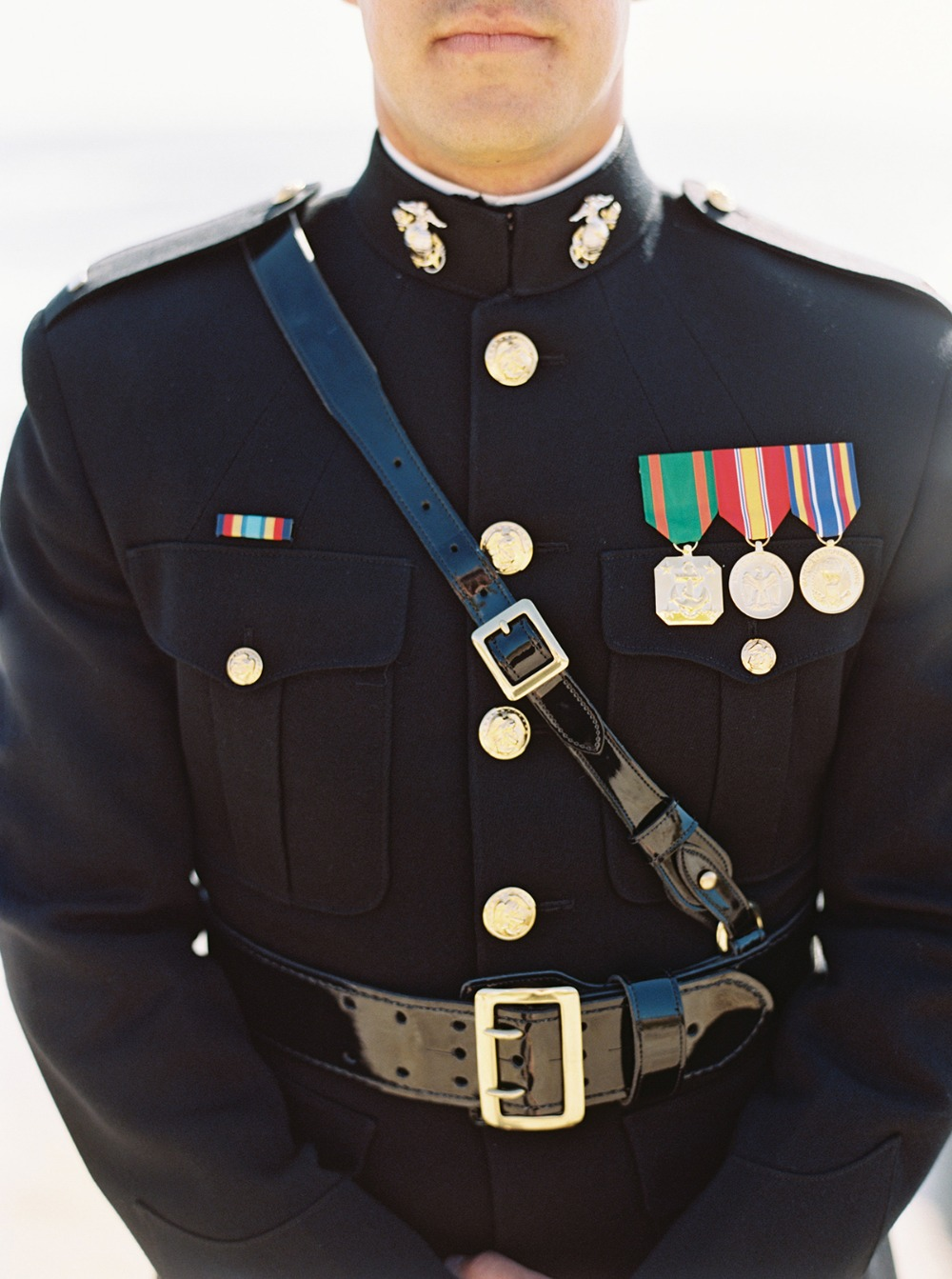 military dress groom