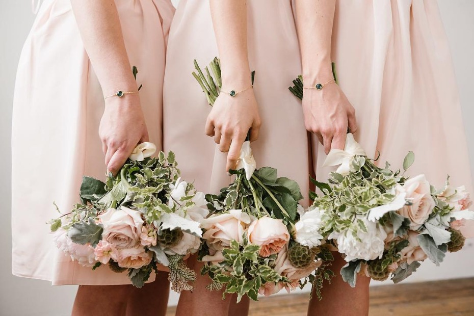 Bridesmaid Bracelets from grace+hudson jewelry