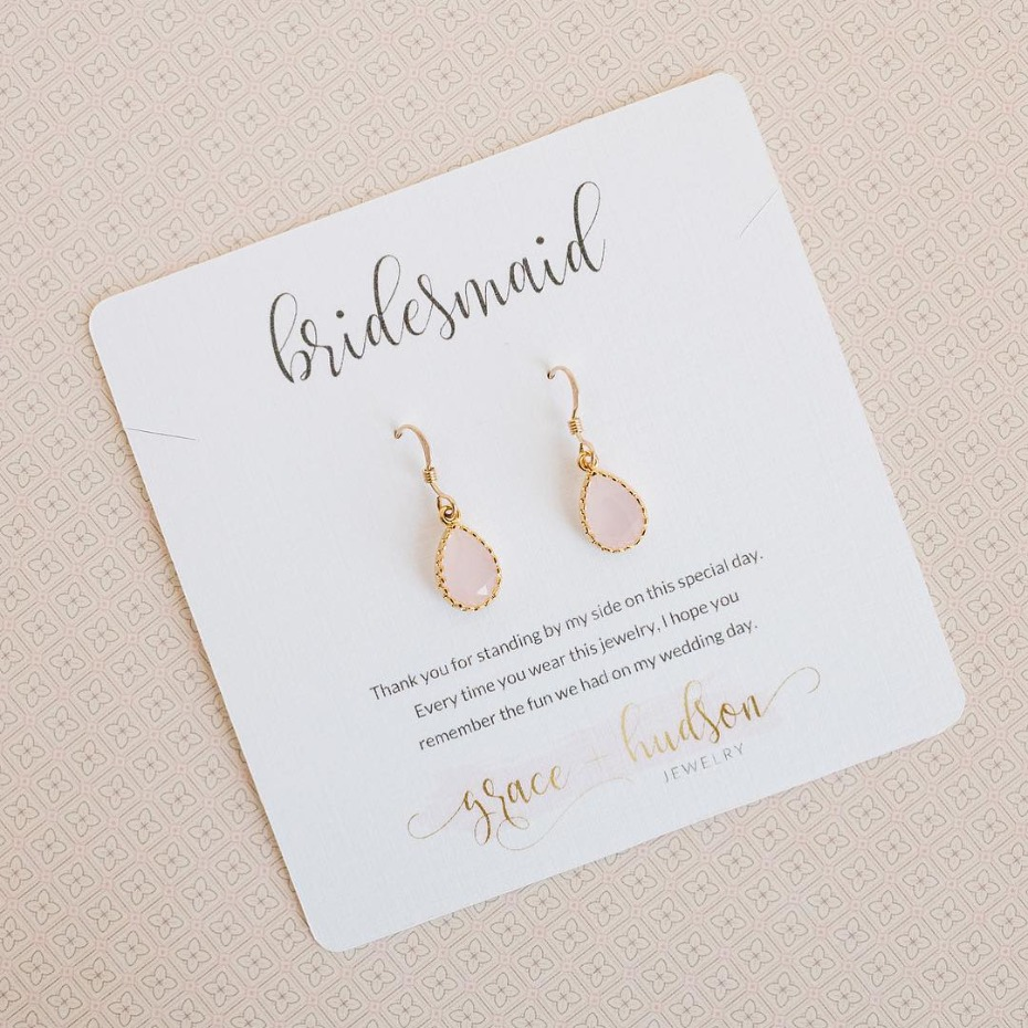 grace+hudson Sophia Earrings Bridesmaid Gift
