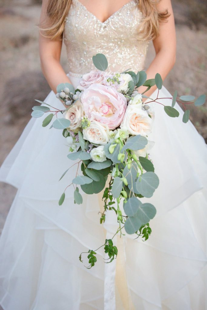 Your wedding bouquet will be in every single picture that you look at for the rest of your lives! Don't skimp on this perfect accessory