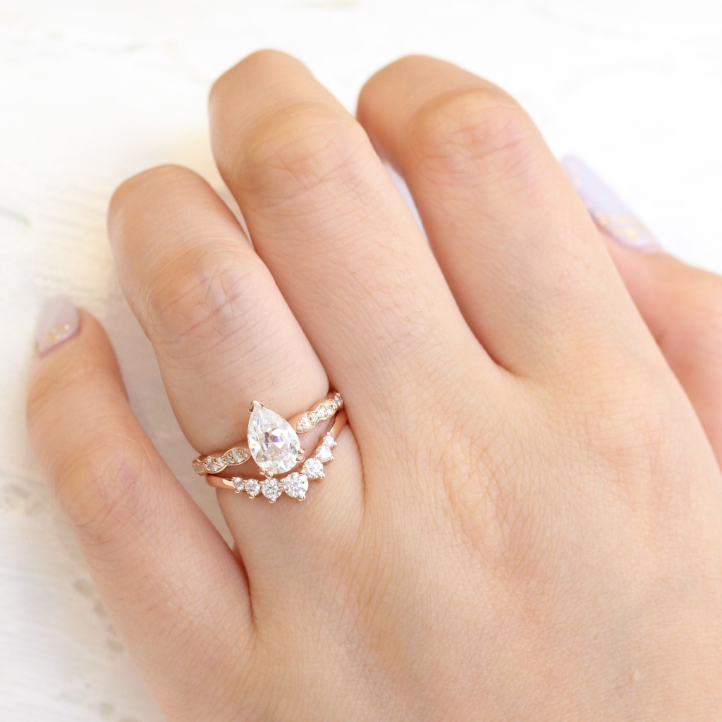 Our Grace Solitaire collection exudes just what its called, grace and elegance in a solitaire ring on your finger ~ See more from the