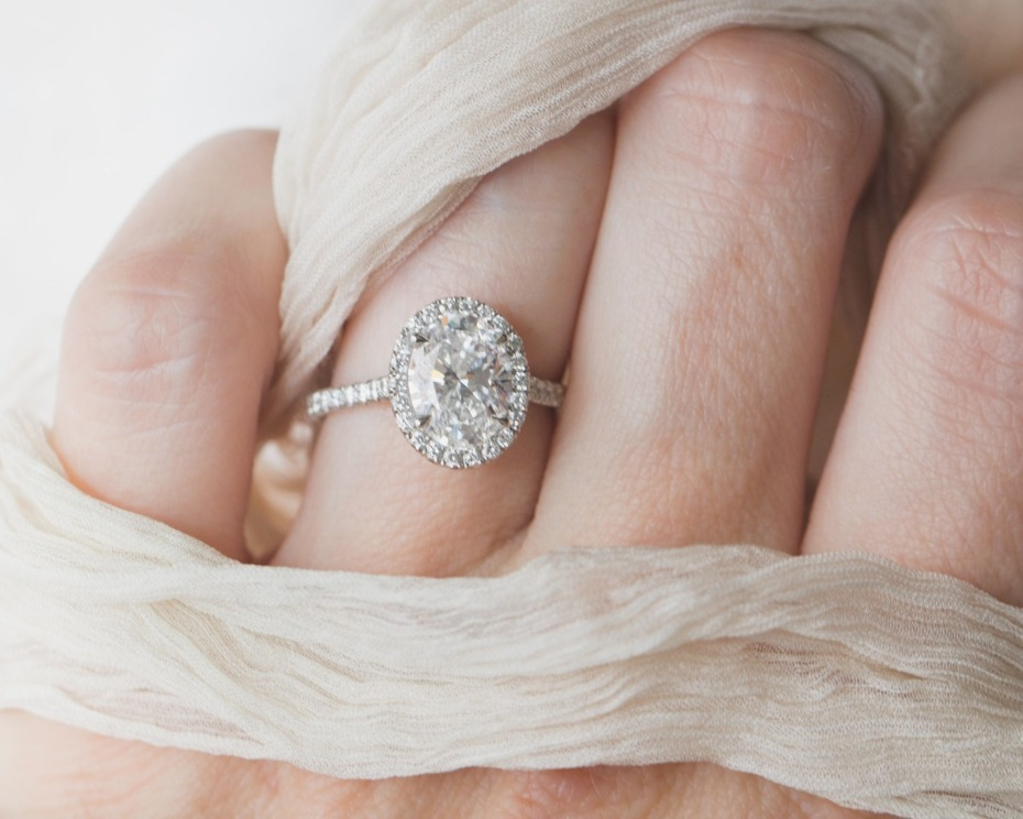 Big Engagement Ring from Good Stone