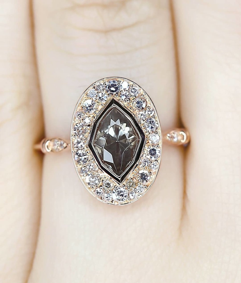 Big Engagement Ring from S. Kind & Co.