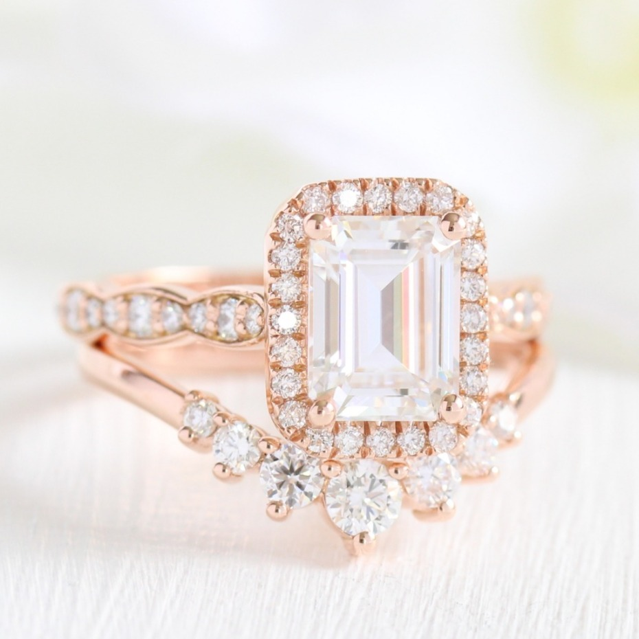 Big Engagement Ring from La More Design