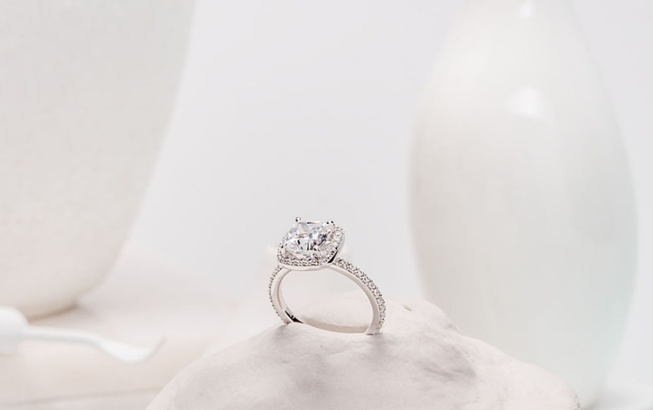 Big Engagement Ring from Spence Diamonds