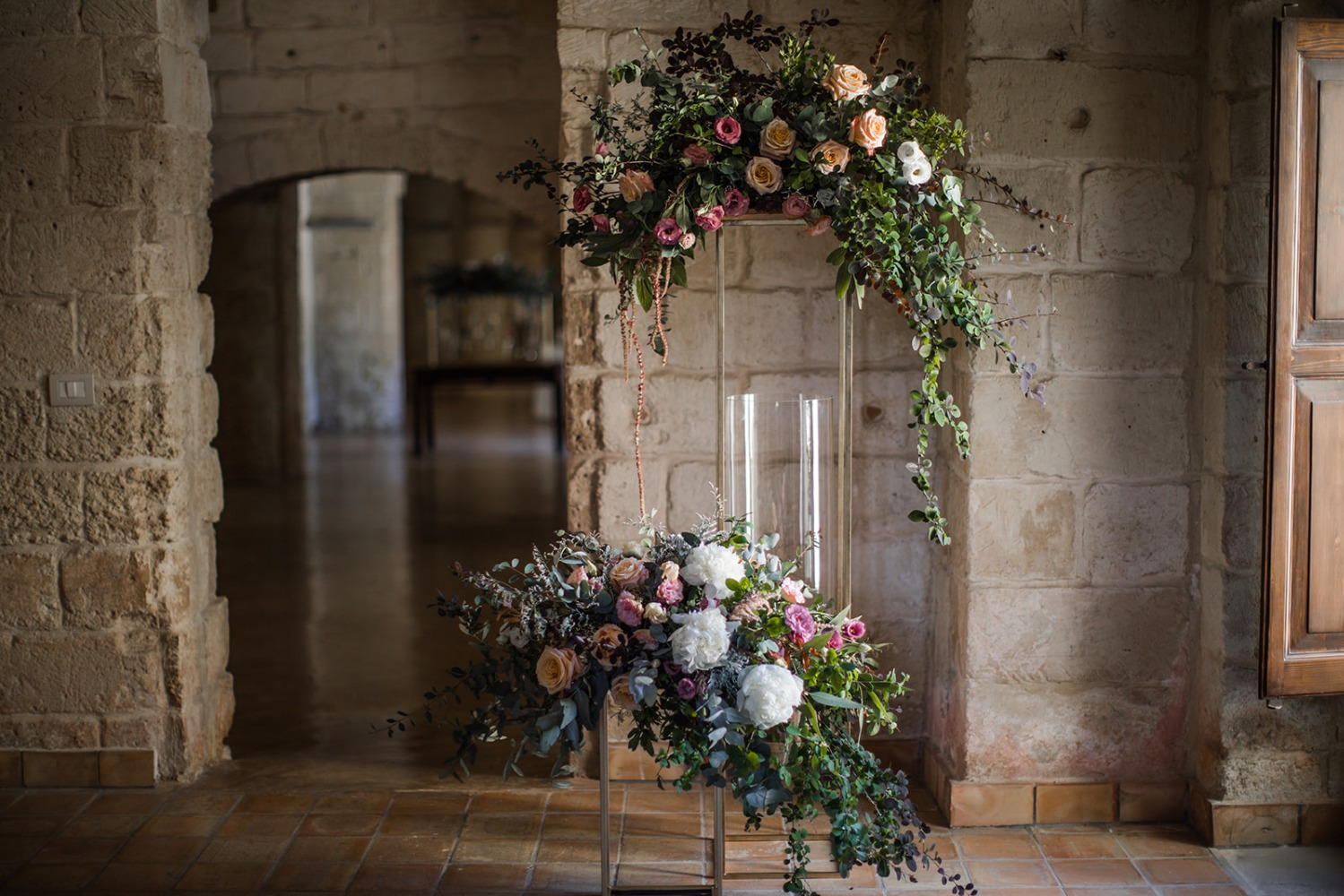 romantic floral decor idea