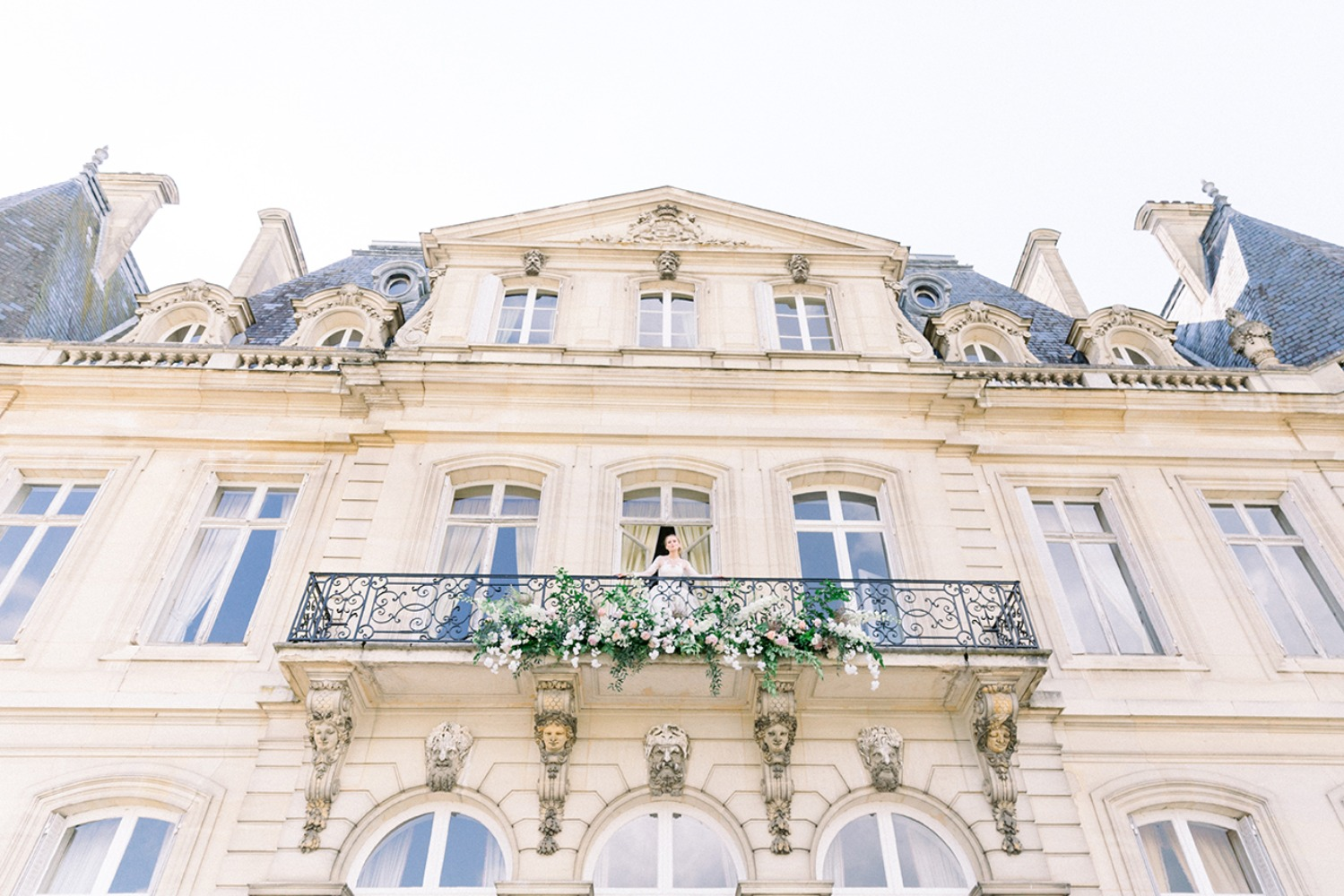french chateau wedding ideas