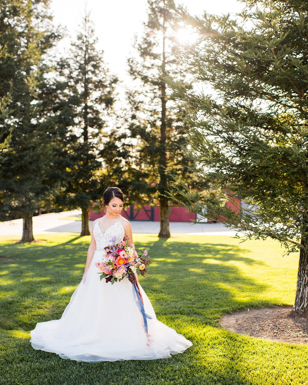 classic bridal style for your summer wedding