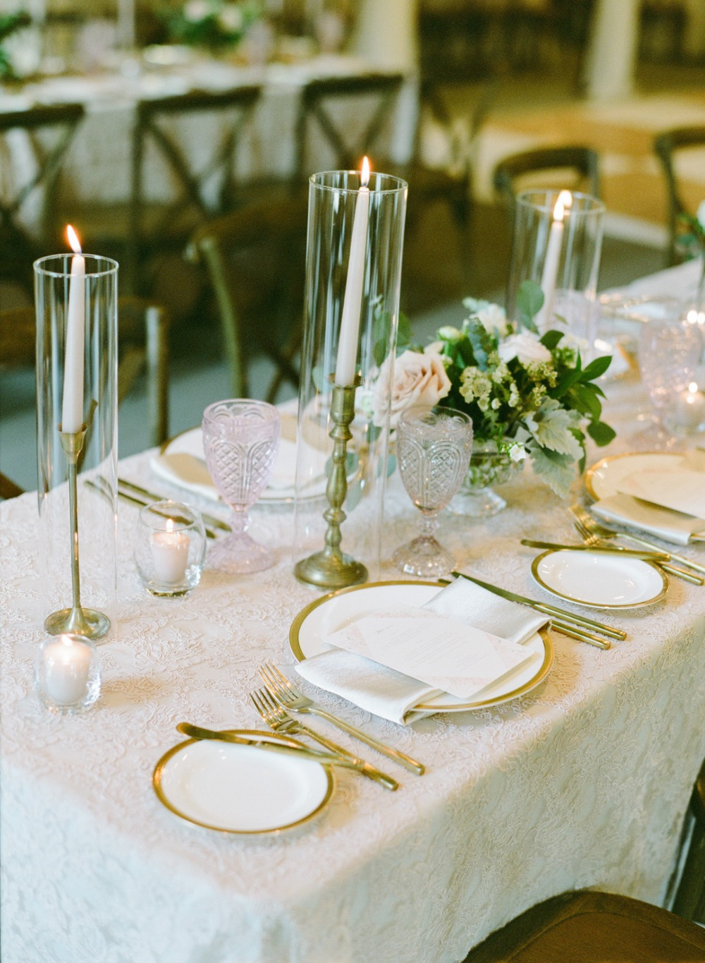 chic classic wedding table