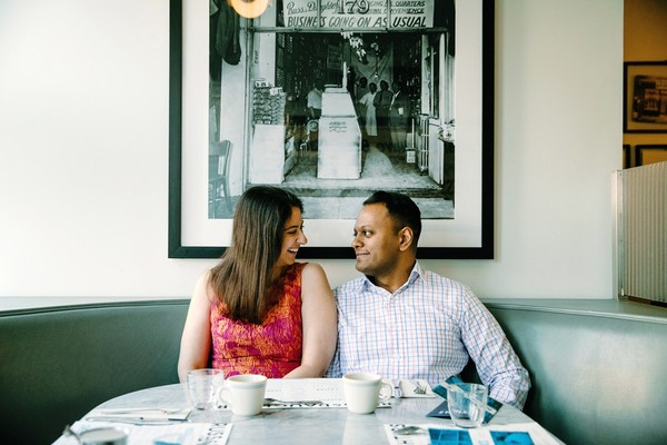 NYC Restaurant Engagement Shoot