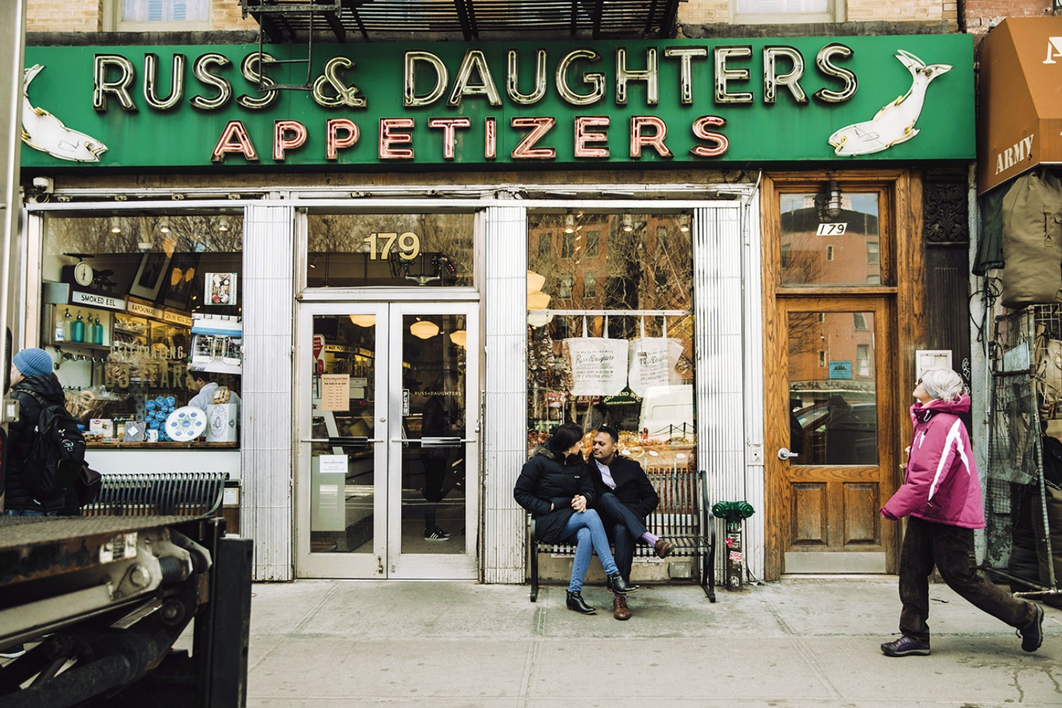 Russ and Daughters appetizers