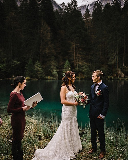 One year ago that this dream came true. I can still feel my heart beating and melting as I see them approaching the lake and getting