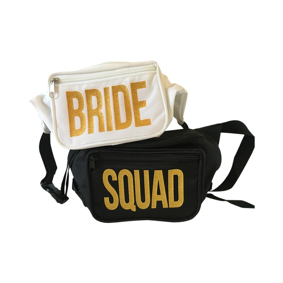 Bachelorette Box Bride Squad Fanny Packs