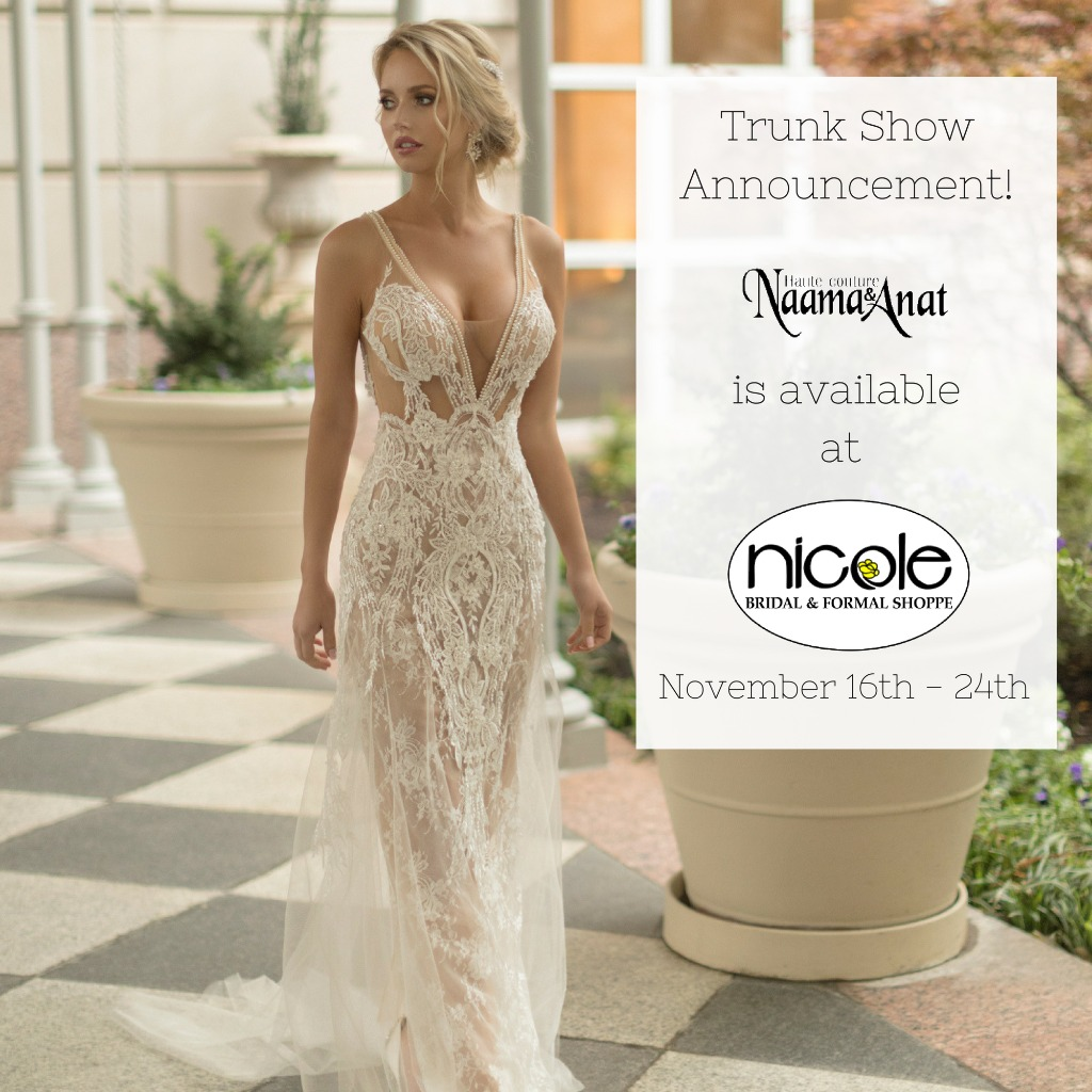 Naama & Anat Huate Couture at Nicole Bridal and Formal Shoppe
