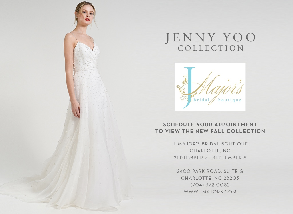 Jenny Yoo Collection Trunk Show at J. Major's Bridal Boutique