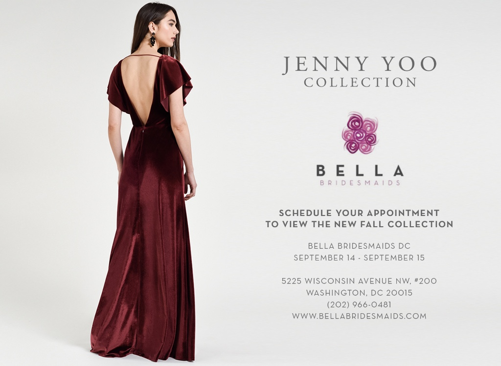 Jenny Yoo Collection at Bella Bridesmaids DC