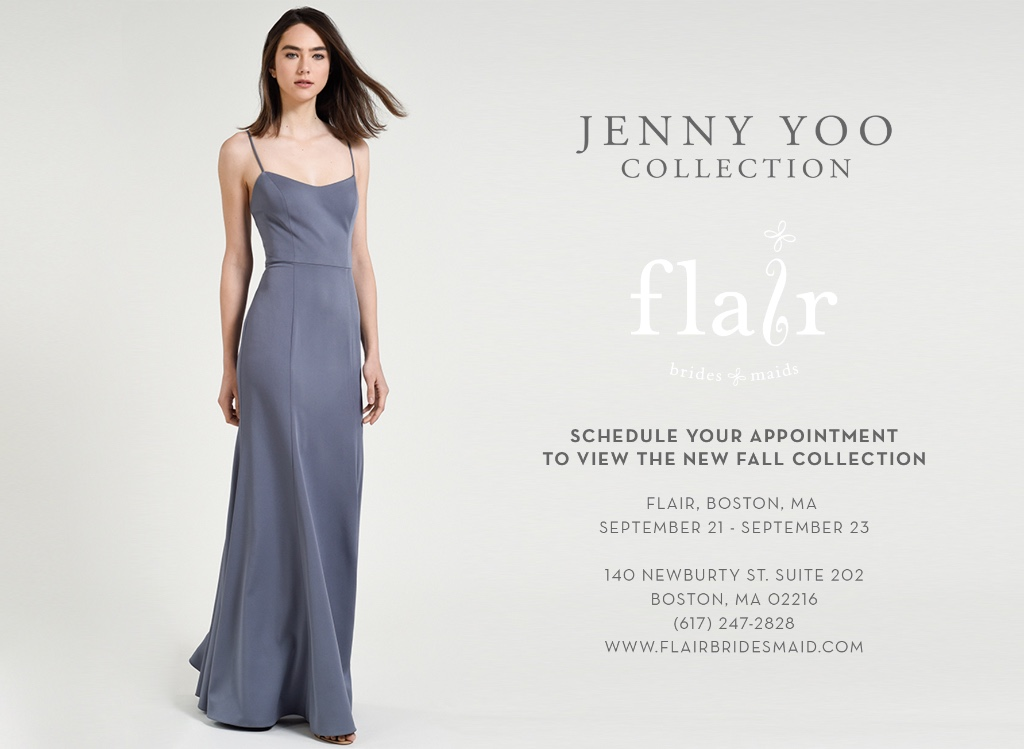 Jenny Yoo Collection at Flair Boston