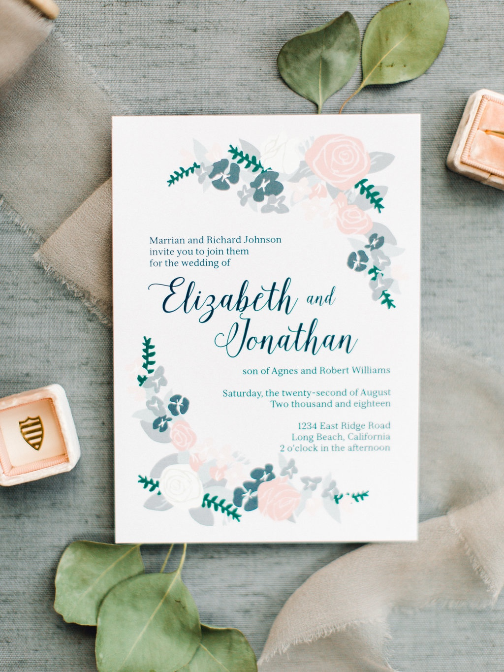 Rustic chic wedding invitations are a lovely choice for the upcoming autumn wedding season. Customize your invitation using your colors
