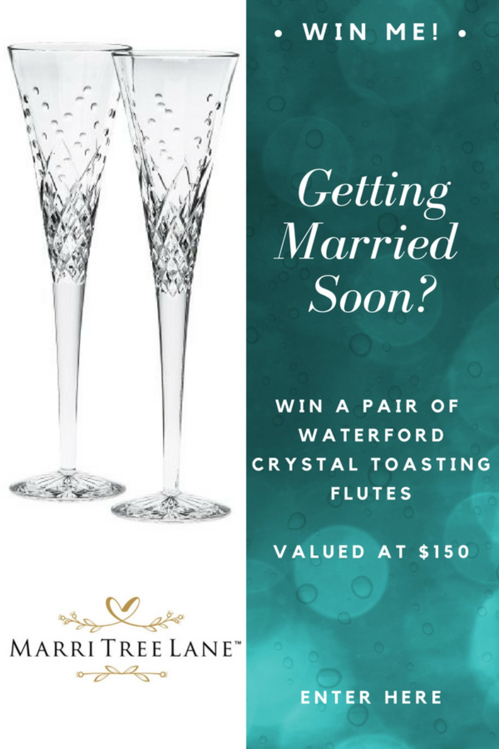Champagne Flute Giveaway