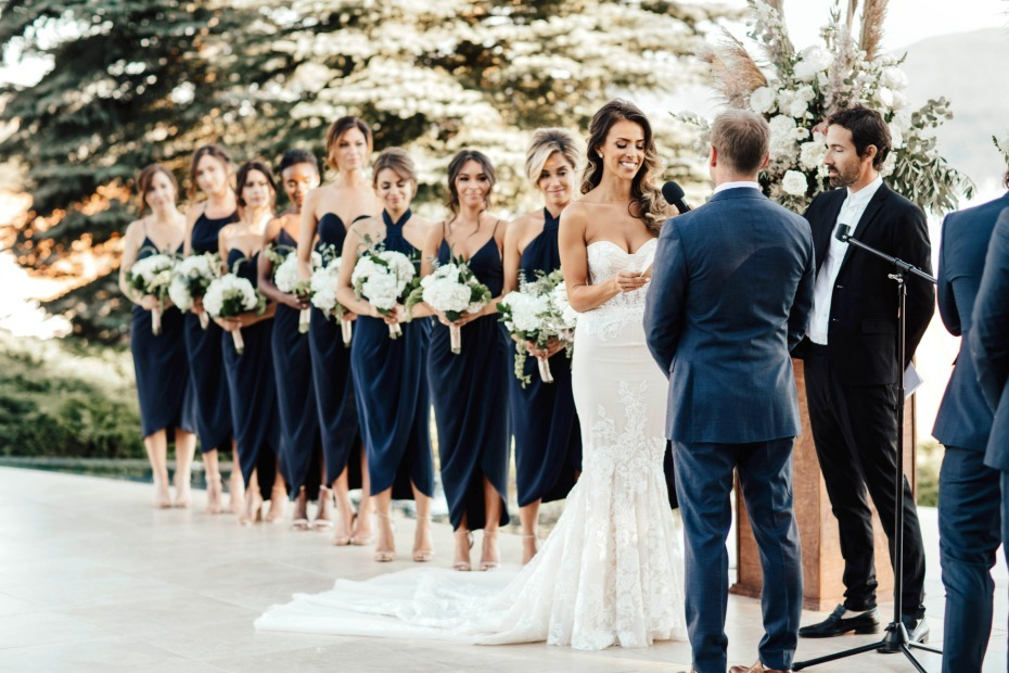 Luxury Lakefront Wedding With DIY Flowers