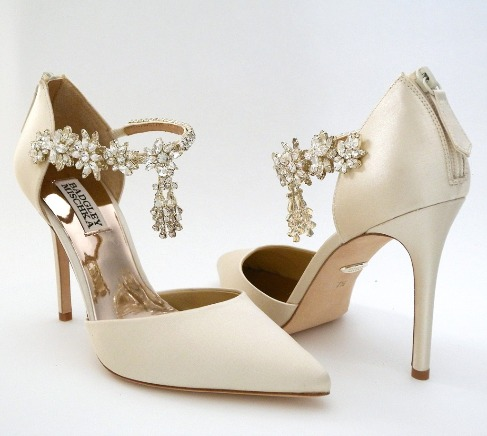 Badgley Mischka Venom wedding shoes brings back deco glamour with sparkle  like never before. D 122246b275d