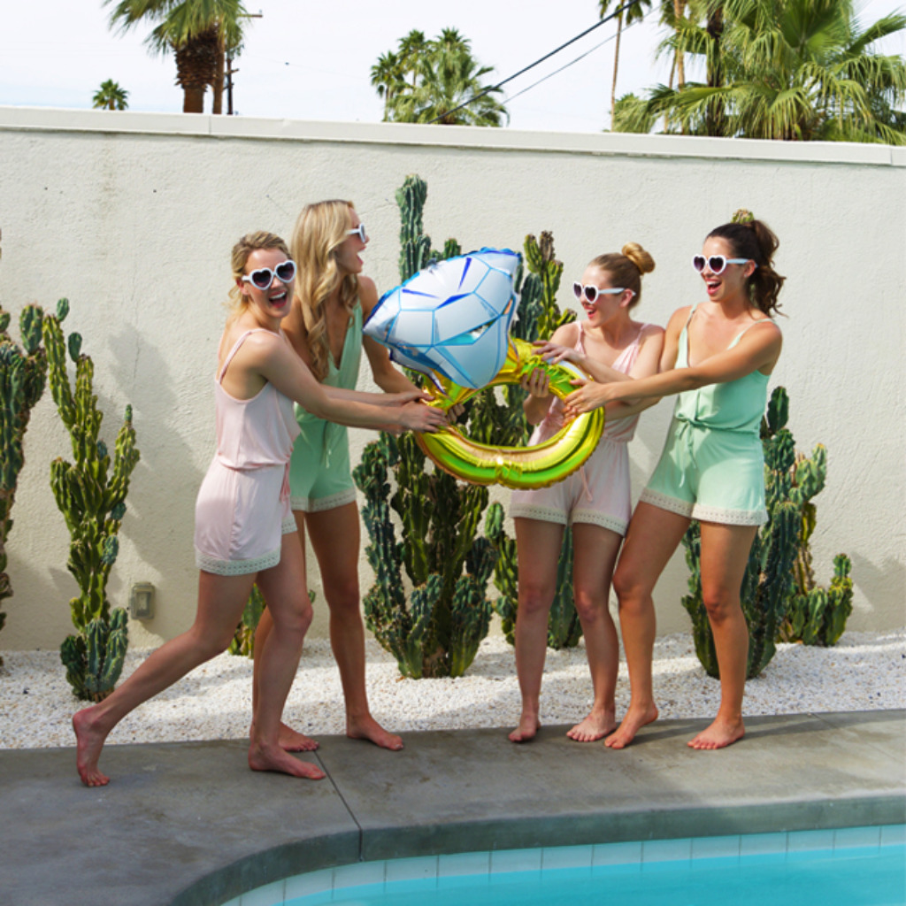 It's the perfect weather for a girl weekend before the big day! Pack those rompers ladies! Use code WCLOVE for a special promo for
