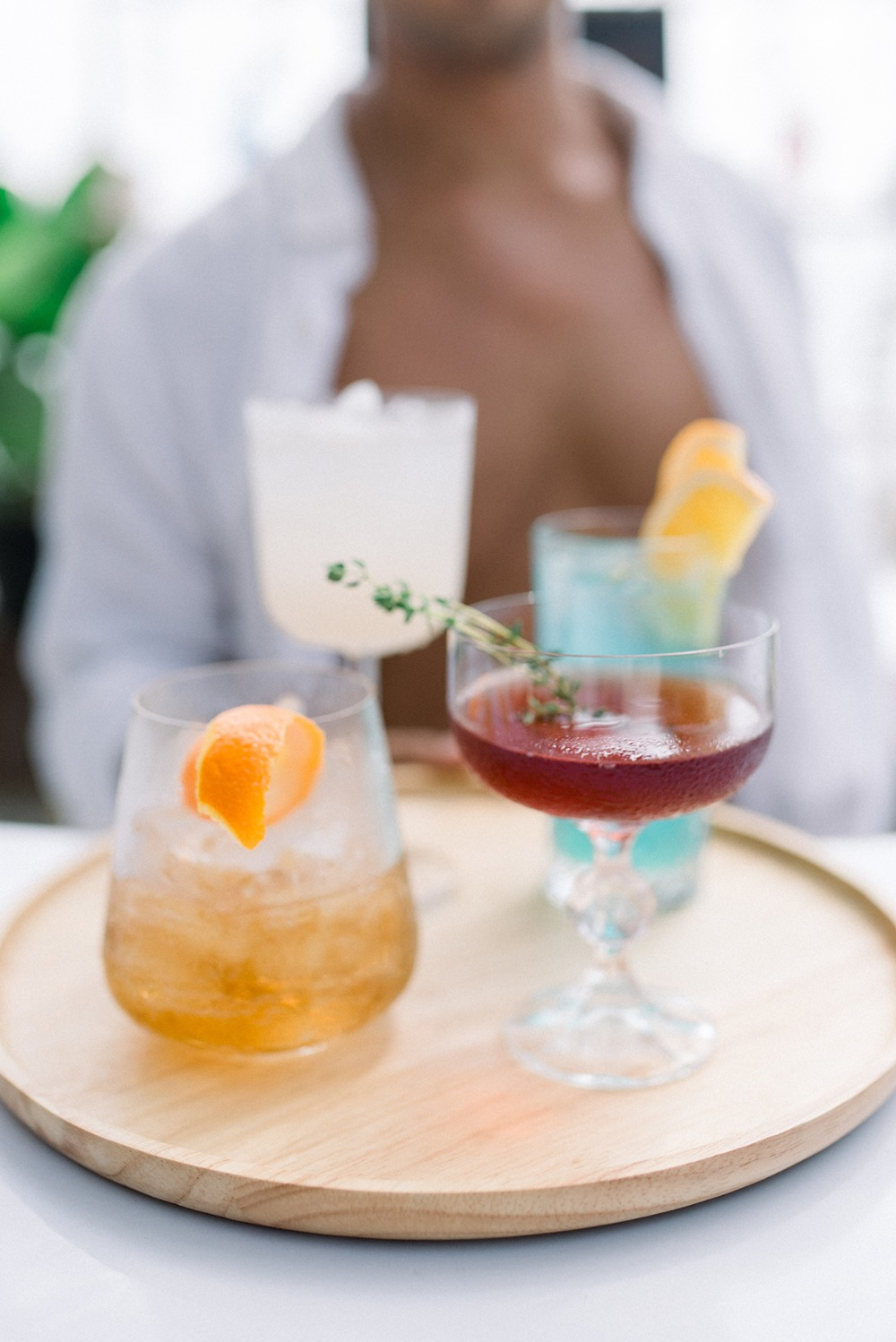 fancy Bachelorette cocktails
