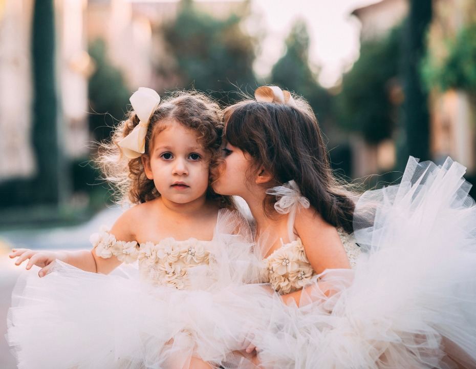 Marais Sky Flower Girl Dresses