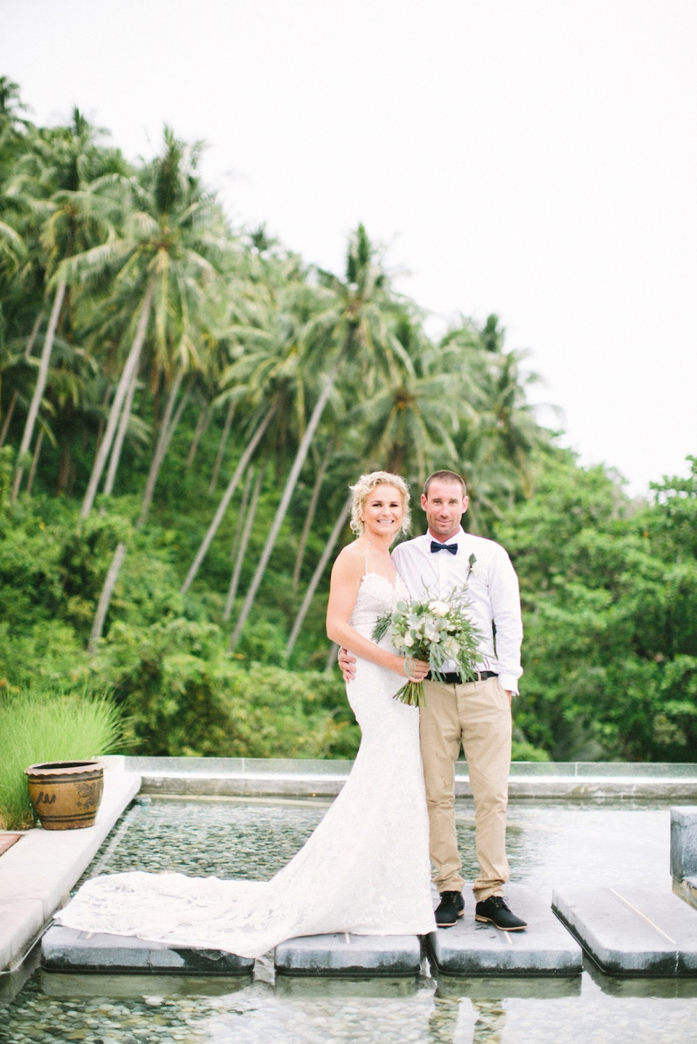 wedding couple in Thailand