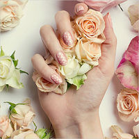 100 Delicate Wedding Nail Designs