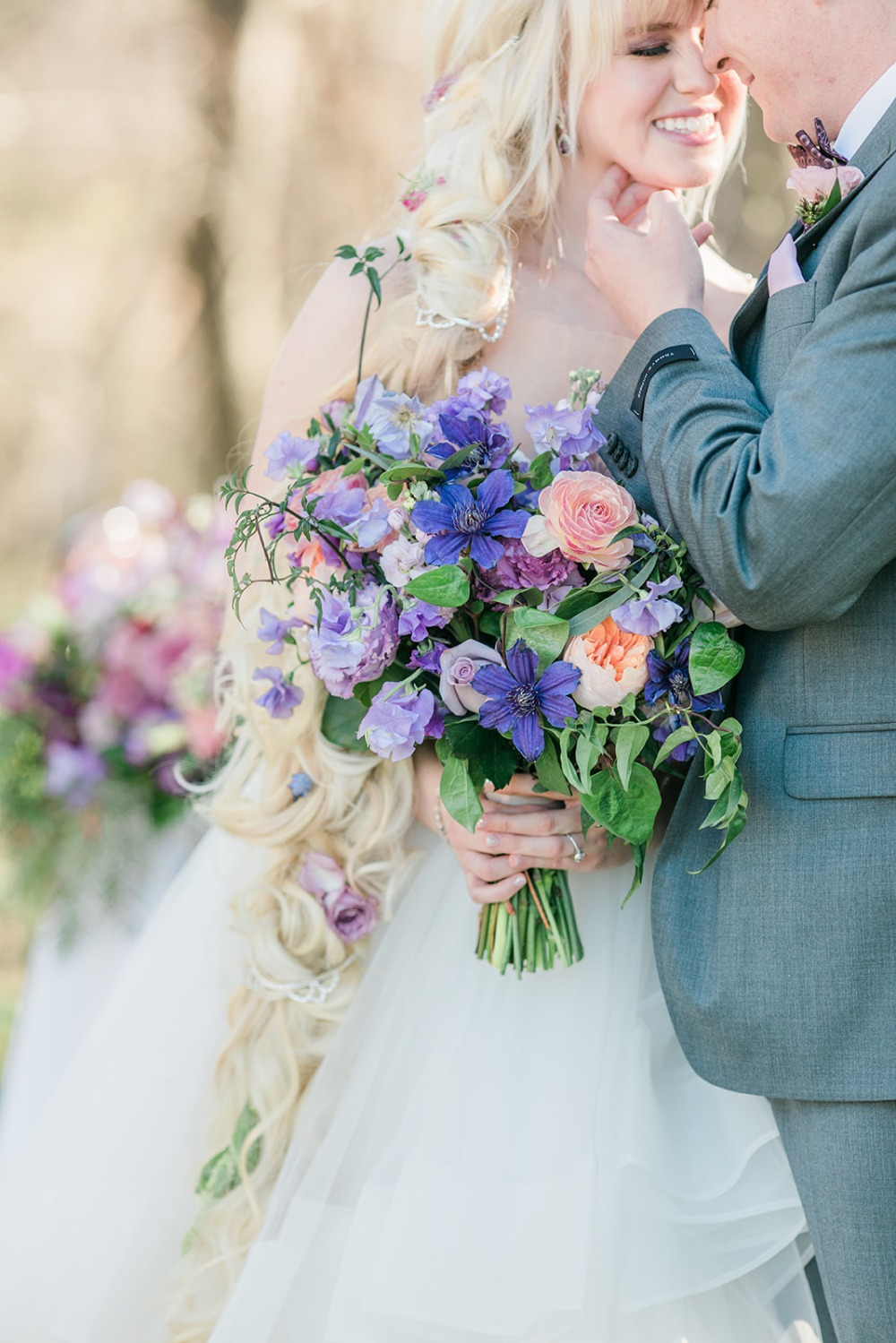 fantasy wedding bouquet