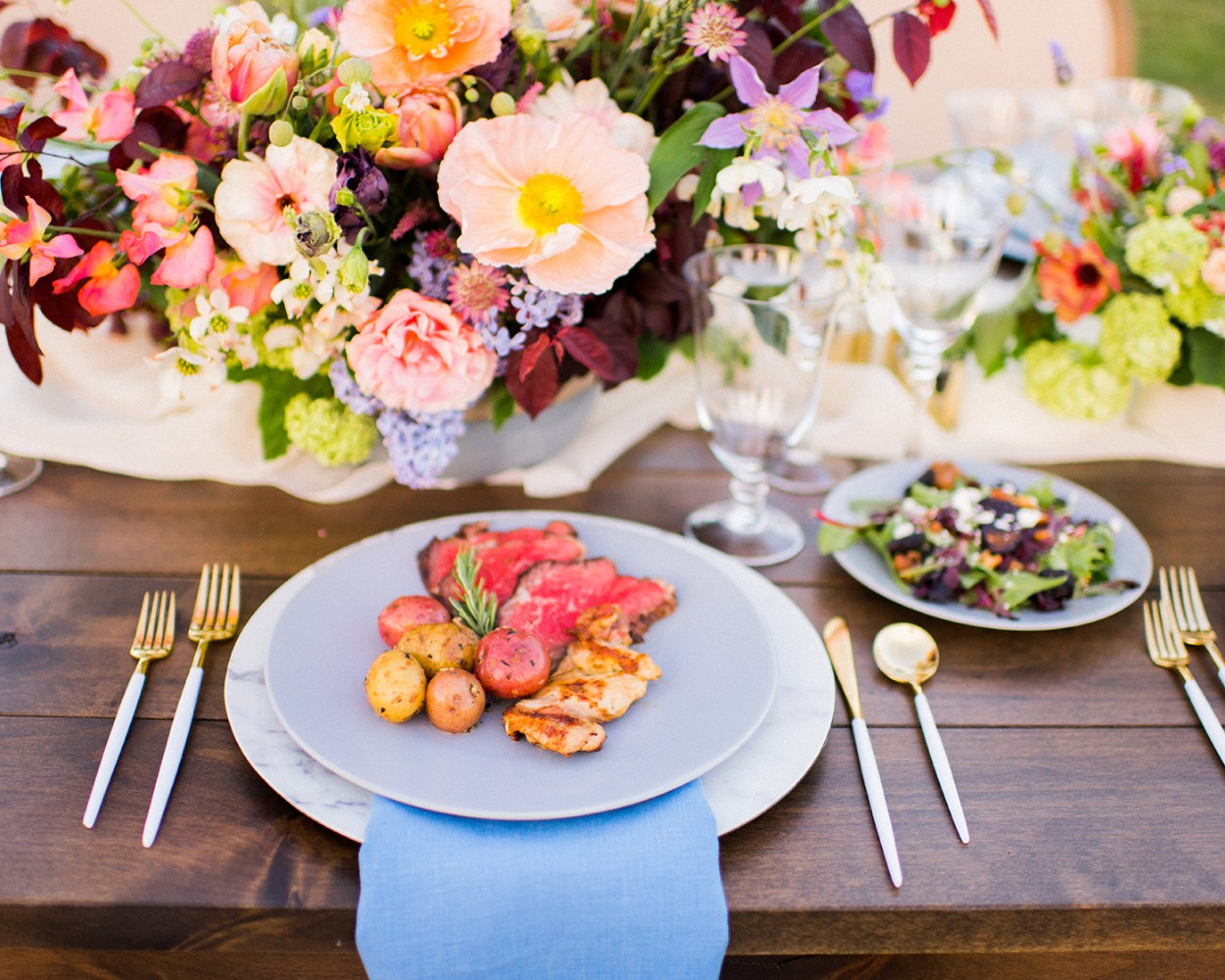 wedding food we wish we could eat